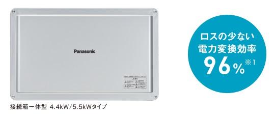 パナソニック太陽光パワーコンディショナー